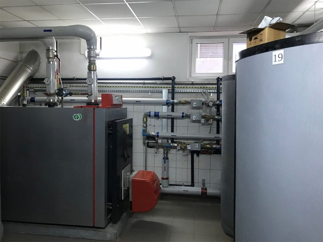 Termomodernizacja Szkoły podstawowej w Kotli gmina Kotla